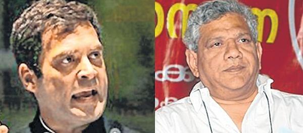 Court issues summons to Rahul Gandhi, Sitaram Yechury over anti-RSS remarks
