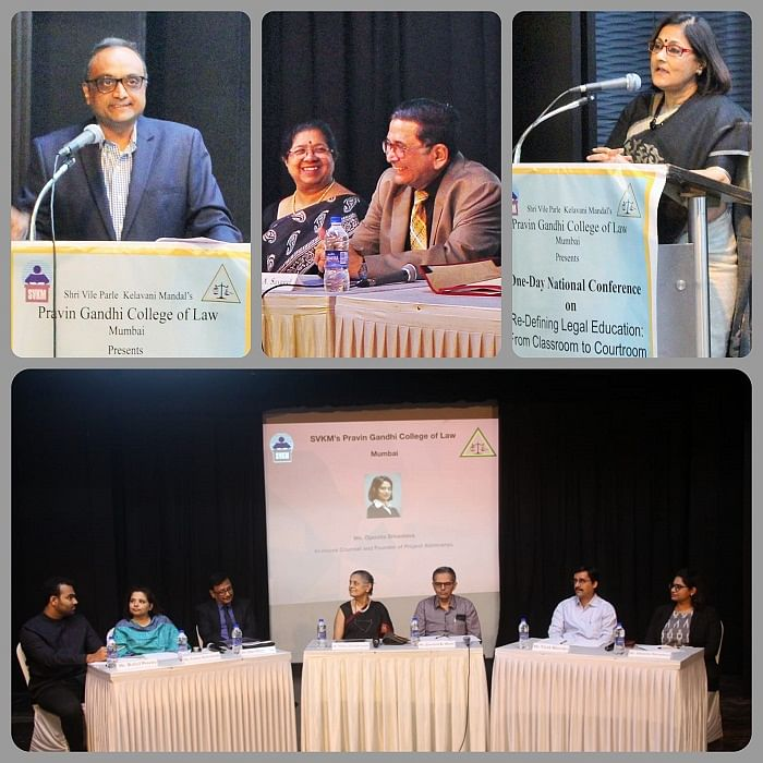 SVKM's Pravin Gandhi College of Law's One-day National Conference conceptualized and formulated a redefinition of legal education