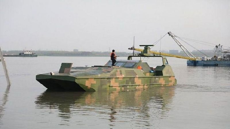 World's first armed amphibious drone boat from China: Report