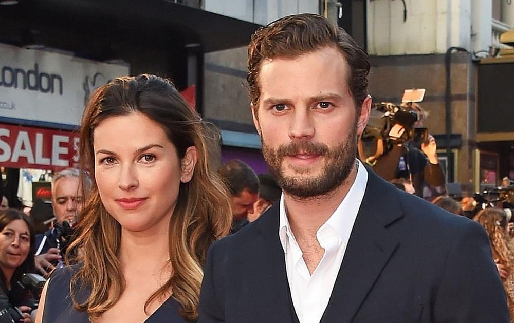 Jamie Dornan: Jamie Dornan praises his supportive wife   English Movie News - Times of India