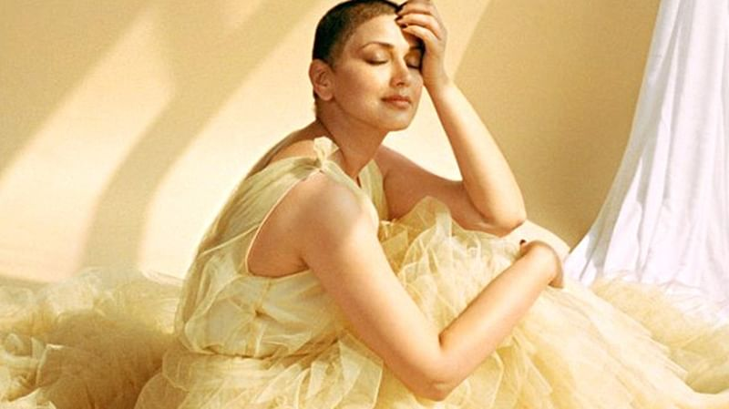 Sonali Bendre talks about going bald and the emotional turmoil that came with it