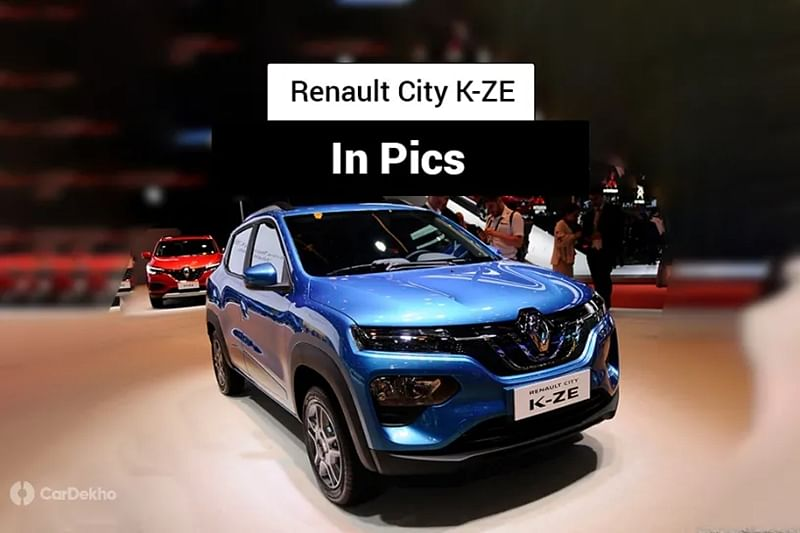 Renault City K-ZE (Kwid EV): In Pics
