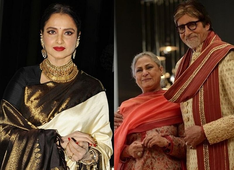 When Rekha suggested that Amitabh Bachchan makes Jaya feel 'insecure'
