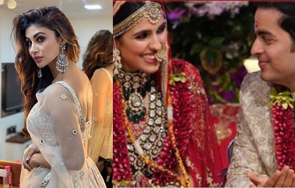 Did Mouni Roy throw a tantrum at Akash Ambani, Shloka Mehta's wedding? Details inside