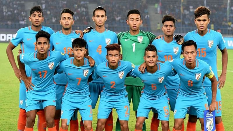 Indian football team moves up 2 spots to 101 in latest FIFA rankings