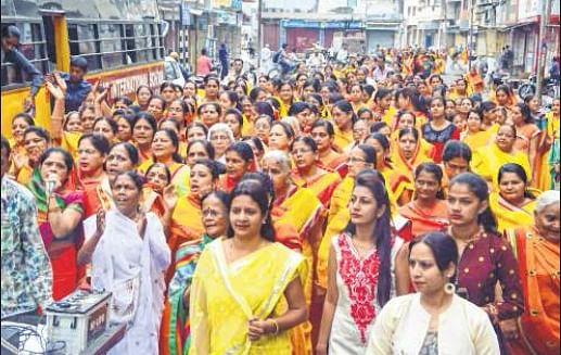 Ujjain: Jain community holds religious progs ahead of Mahavir Jayanti