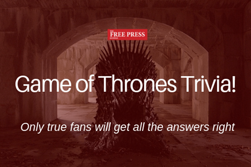 Test your 'Game of Thrones' knowledge in this EXPERT level trivia