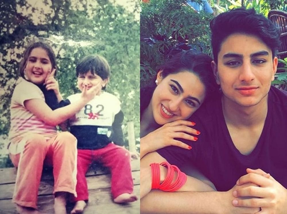 You're my rock! Sara Ali Khan's post for brother Ibrahim on Siblings Day is too cute for words