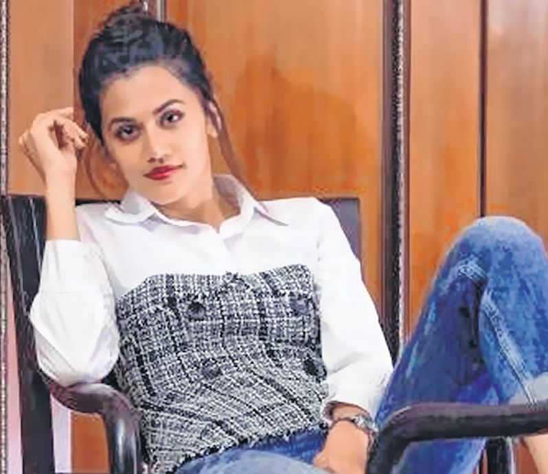 Taapsee Pannu in alien land…