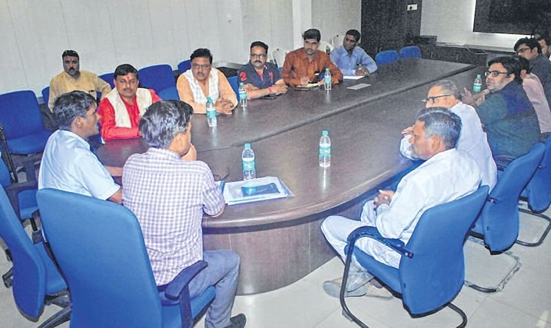 Ujjain: Review meeting of dept heads convened