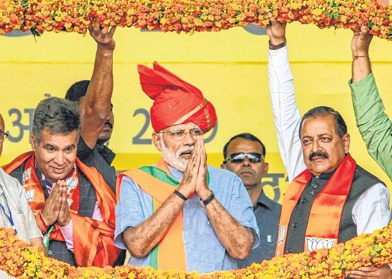 Won't allow Abdullahs, Muftis to divide India:Prime Minister Narendra Modi