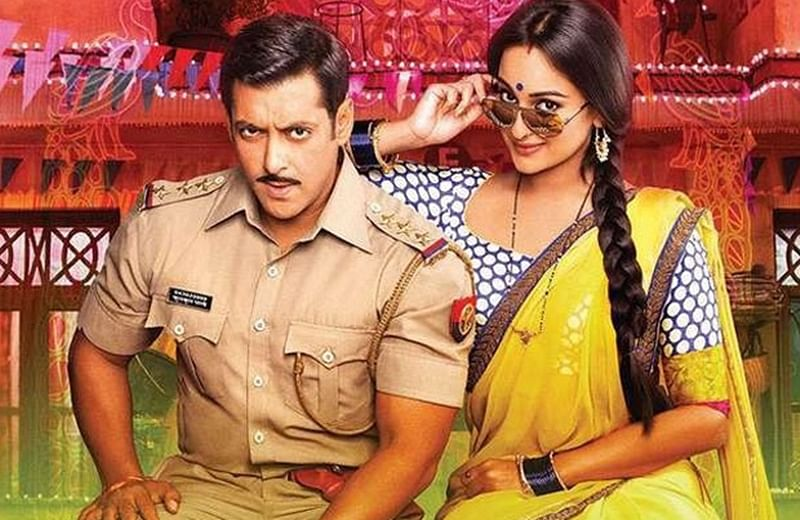 Sonakshi Sinha was not a Salman Khan fan before she worked with him for Dabangg