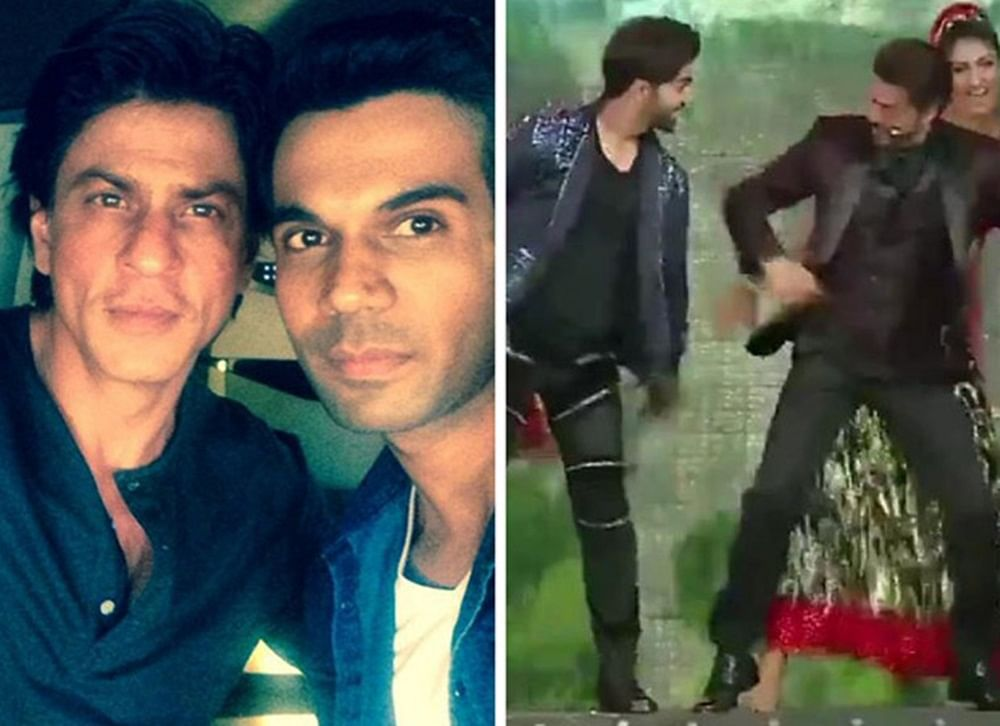 This video of Rajkummar Rao dancing with SRK on 'Chaiyya Chaiyya' is what we call a 'Paisa Vasool' performance