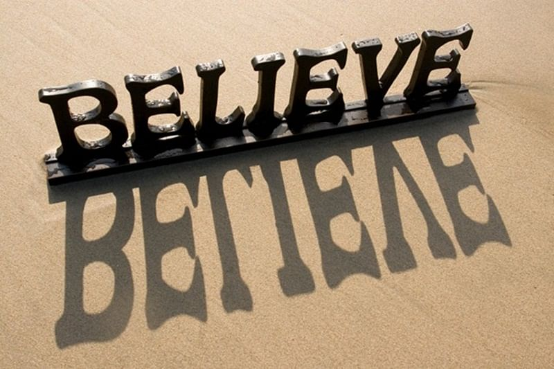 A Man Is What He Believes He Is