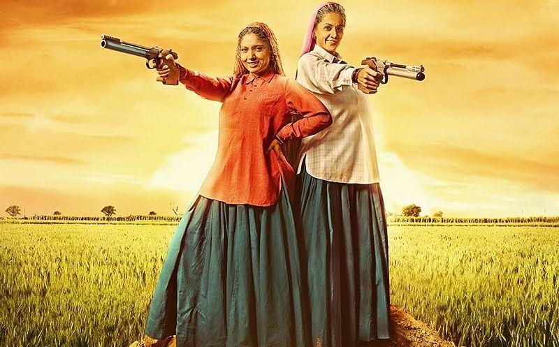 Bhumi Pednekar, Taapsee Pannu wrap up 'Saand Ki Aankh' shooting