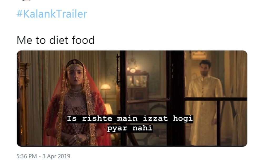 Hilarious memes on 'Kalank' trailer will tickle your funny bones