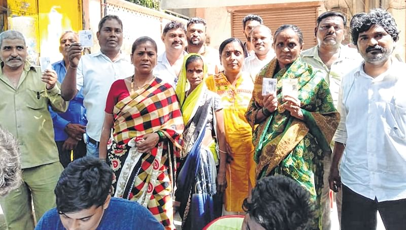 1,600 Mahul residents denied their right