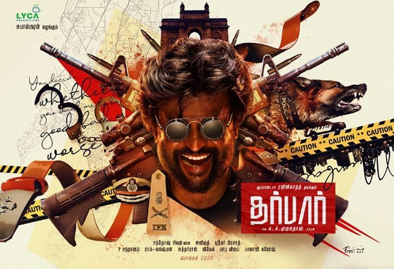 Rajinikanth-AR Murugadoss' film 'Darbar' reveals its first poster; see pic