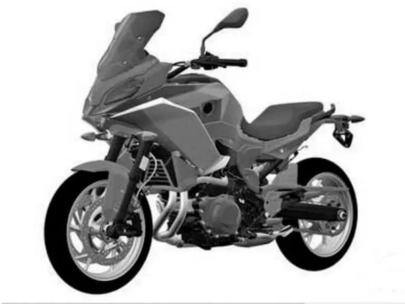 BMW F 850 RS Patent Image Leaked