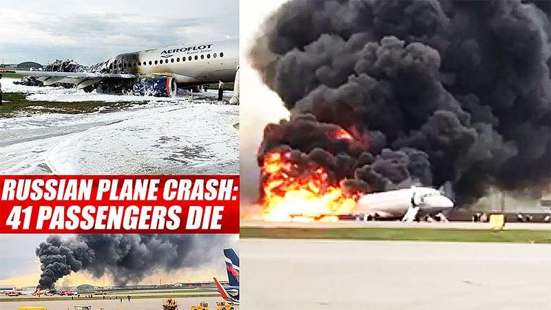 Russian Plane Crash: 41 Passengers Die