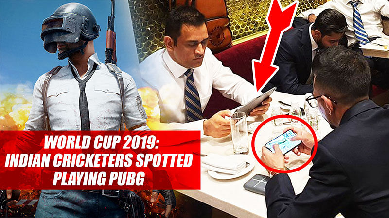World Cup 2019: Indian Cricketers Spotted Playing PUBG While Waiting For Flight To England
