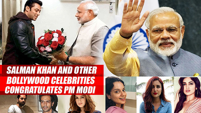 Salman Khan And Other Bollywood Celebrities Congratulates PM Modi