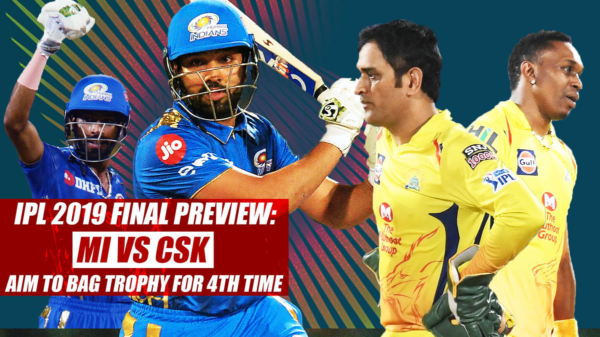 IPL 2019 Final preview: Mumbai Indians, Chennai Super Kings aim to bag trophy for 4th time