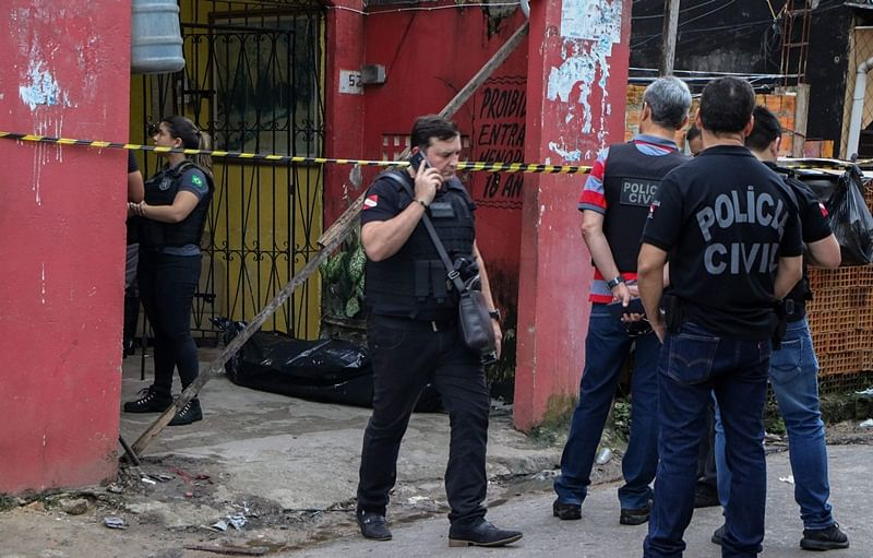 Eleven killed in shooting in a bar in Brazil: officials