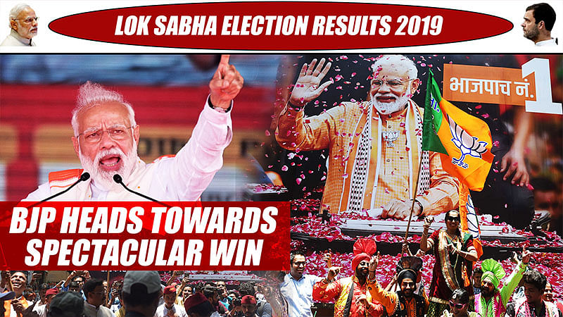 Lok Sabha Election Results 2019: BJP Heads Towards Spectacular Win