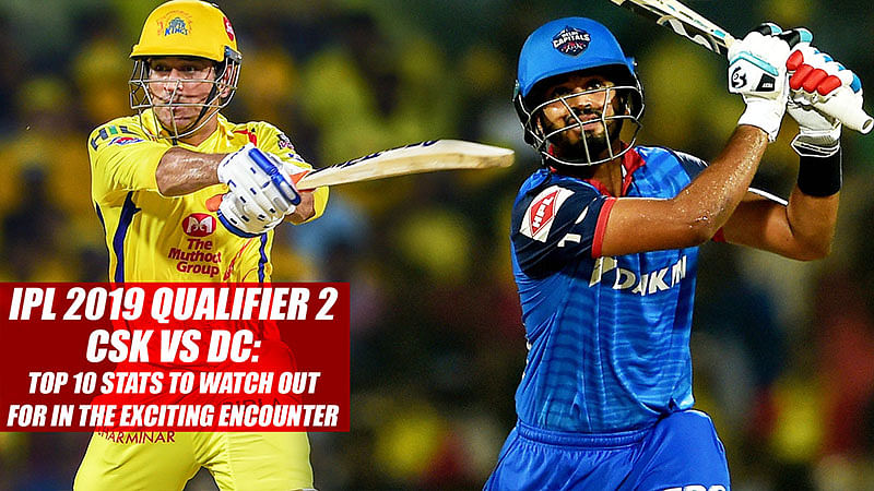 IPL 2019 Qualifier 2 CSK vs DC: Top 10 Stats To Watch Out For In The Exciting Encounter