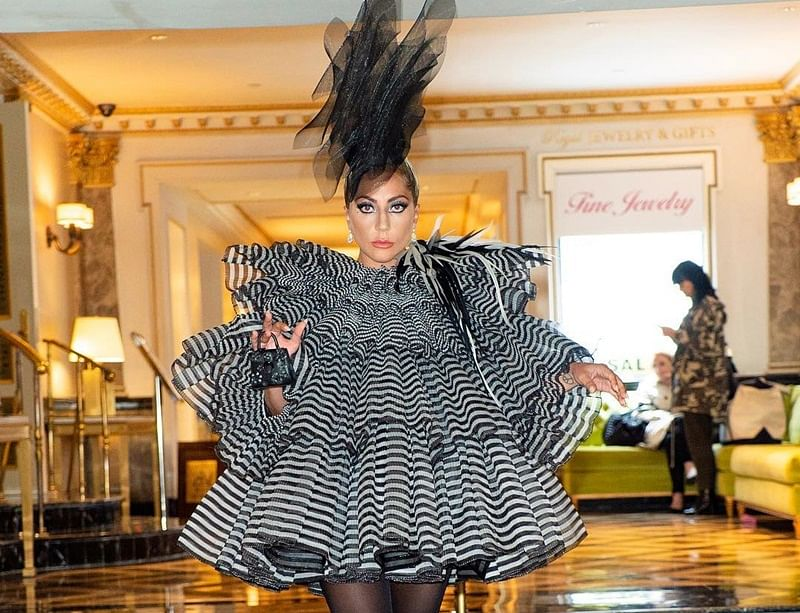 Lady Gaga's pre-Met Gala 2019 party outfit will hypnotise you for real