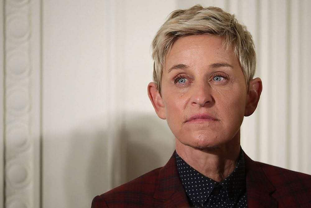 Ellen DeGeneres recounts sexual assault by her stepfather on David Letterman's Netflix show