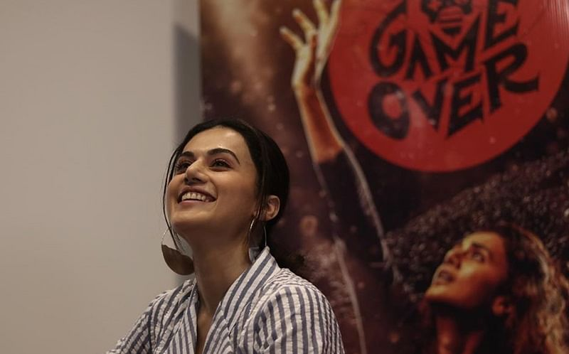 Taapsee Pannu says the upcoming thriller 'Game Over' is very special