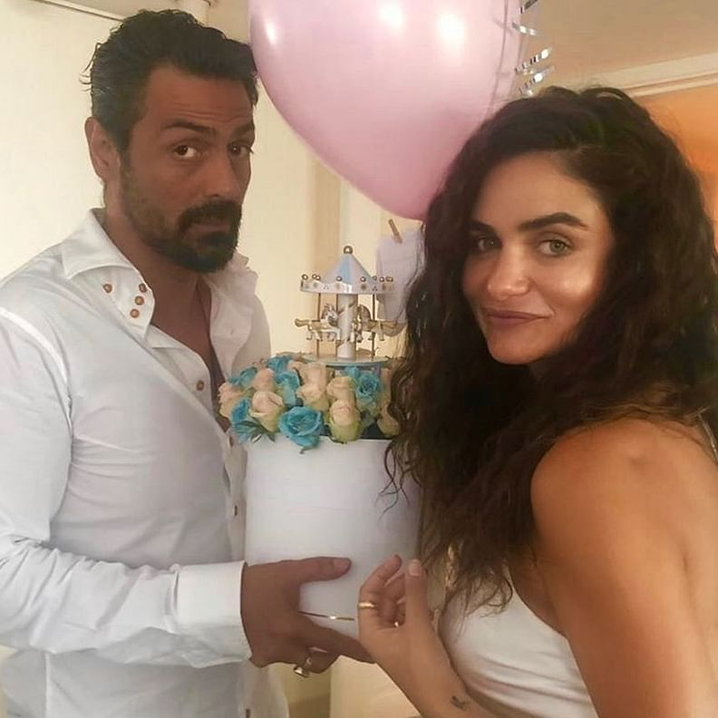 Arjun Rampal, girlfriend Gabriella Demetriades welcome first child together
