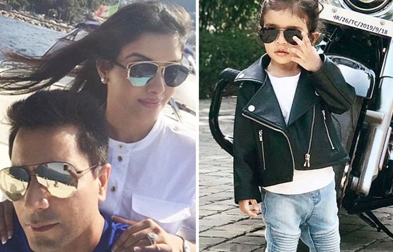 Asin proud of daughter Arin shares the adorable photos on Instagram