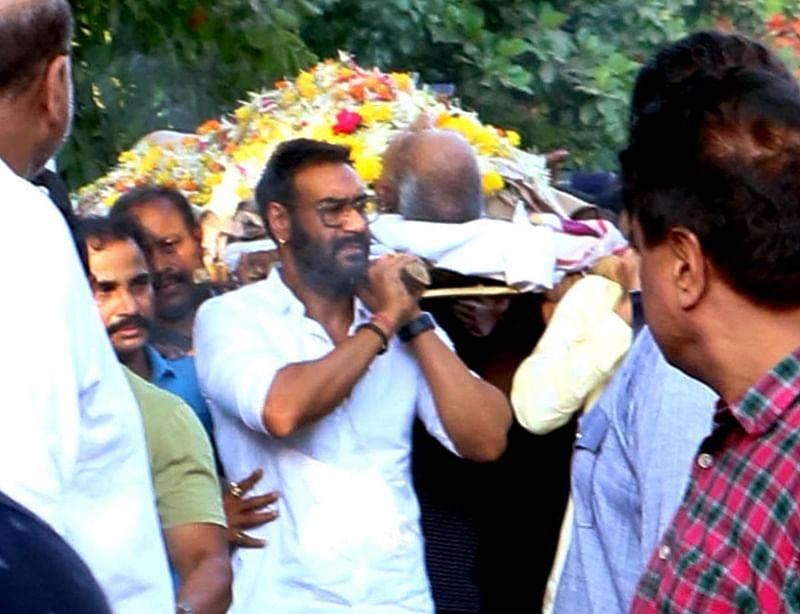 Bollywood bids tearful adieu to Veeru Devgan