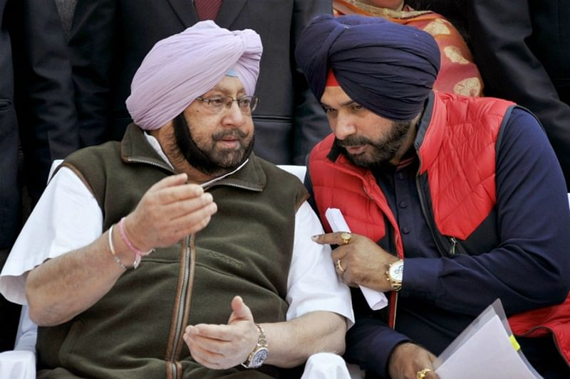 Amarinder Singh refutes Navjot Singh Sidhu's wife's charge but minister says 'my wife will never lie'