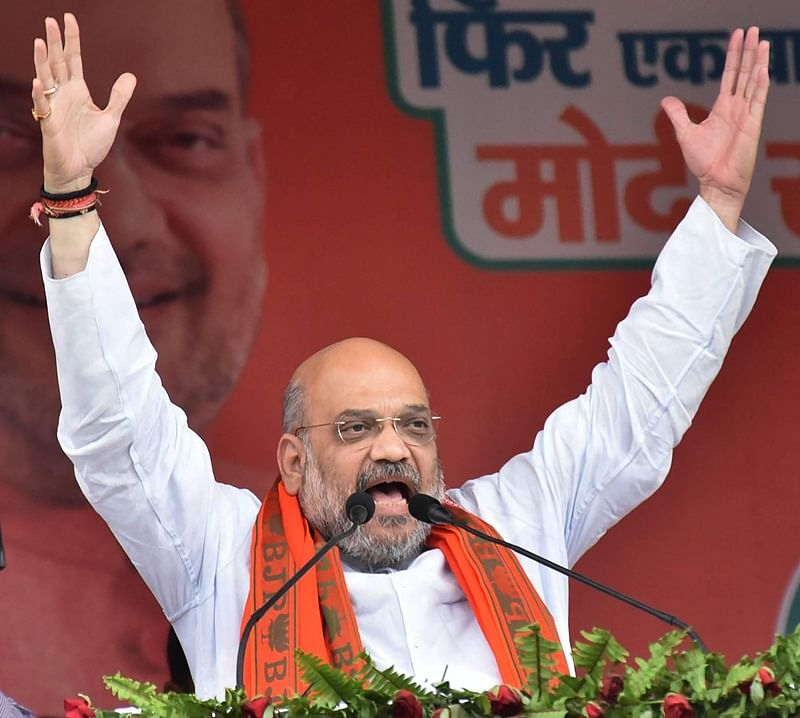 Kolkata drowns in saffron deluge as thousands of BJP workers took part in Amit Shah's road show