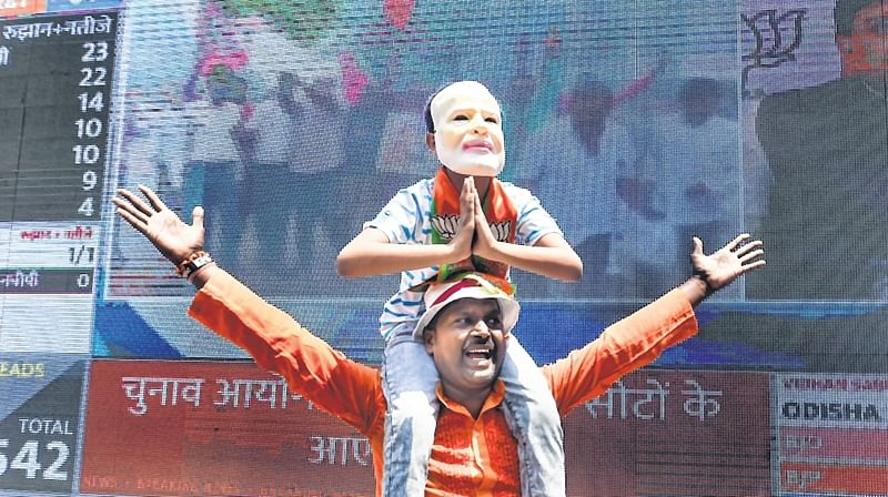 BJP pulls off stunning performance in Hindi heartland