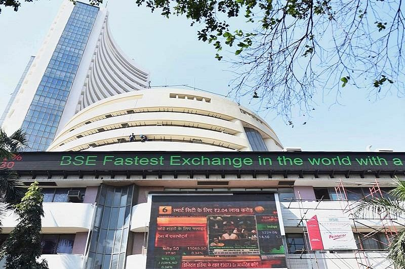 Equities trade lower, Nifty around 11,900
