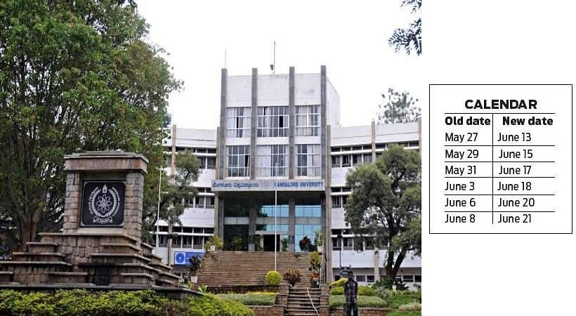 Bangalore University relieves commerce students by announcing new examination dates