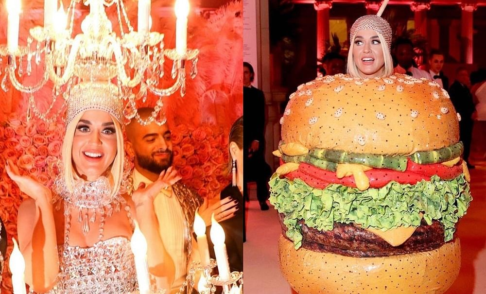 Met Gala 2019: Katy Perry's Chandelier outfit turns into a delicious hamburger