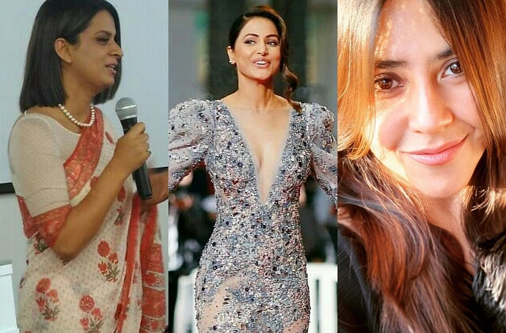 Ekta Kapoor, Rangoli Chandel, and others slam magazine editor for mocking Hina Khan's Cannes 2019 debut