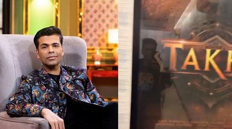 Karan Johar shares 'Takht' prep video to shut down rumours of film being shelved