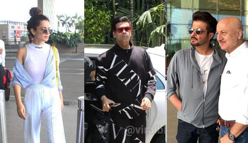 Kangana Ranaut, Karan Johar and more head out to attend Modi's swearing-in