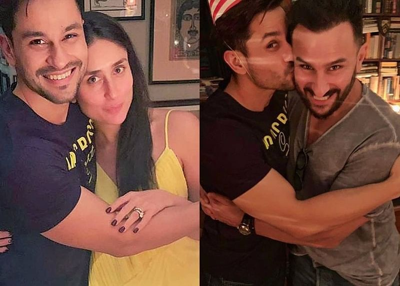 Kareena Kapoor, Saif Ali Khan host a fun house party for Kunal Kemmu on his birthday