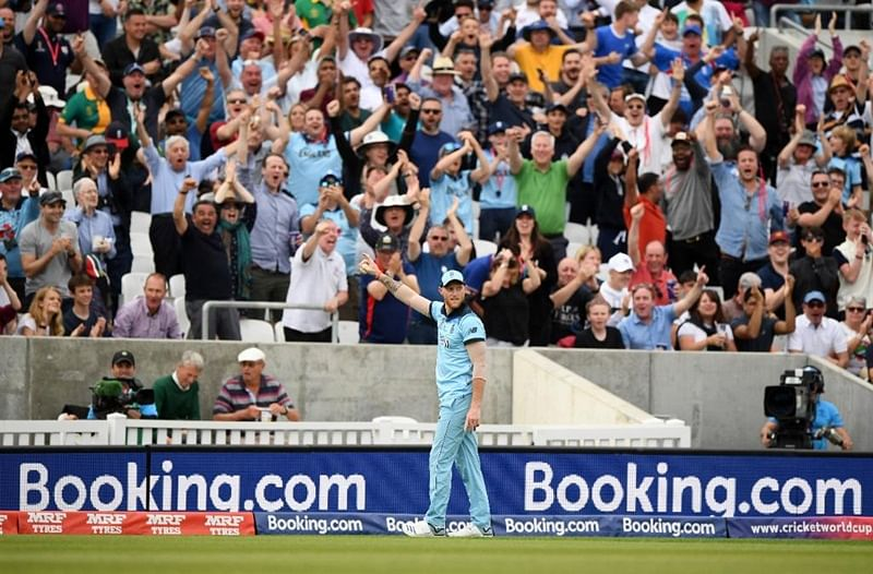 Catch of the tournament! Ben Stokes' stunning catch leaves Twitterati in awe