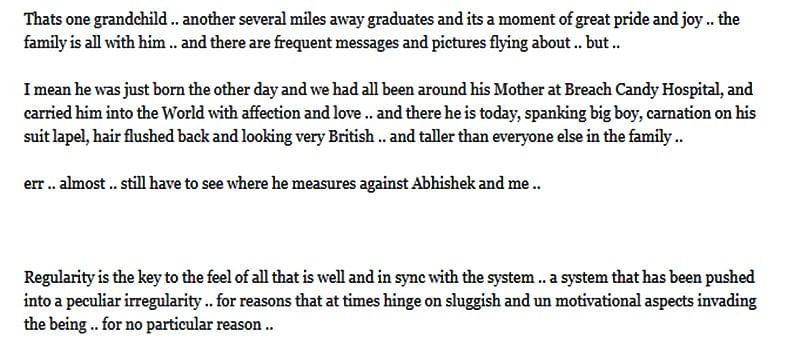 Grandson Agastya's graduation fills Amitabh Bachchan with pride