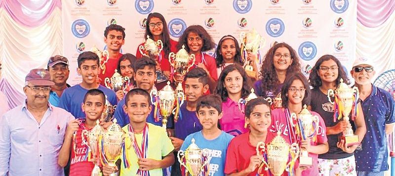 Vedant Bapna, Kareena Shankta champions