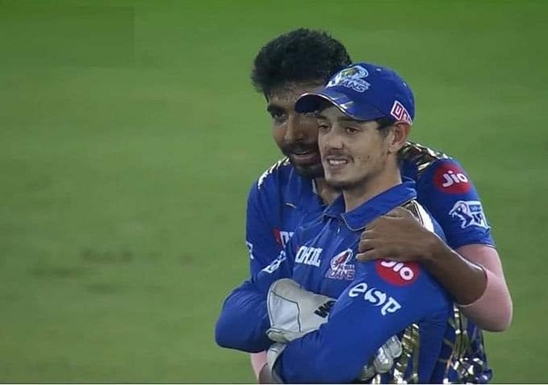 Absolute Class! Jasprit Bumrah's gesture to Quinton de Kock's mistake during 19th over impresses all